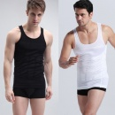 Men's Slimming Vest Shirt Slim Body Tummy Belly Fatty Vest T Shirt Corset Shape Wear Underwear