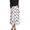 Low Price Fashion Women's Dot Print Floor-length Skirt Chiffon Long Maxi Skirt Dress Hot