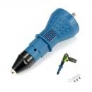 Electric Rivet Nut Gun Cordless Riveting Drill Adapter Riveting Tool Insert Nut Tool