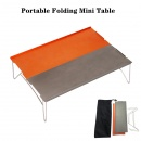 Portable Outdoor Folding Table Ultra-light Mini Camping Dining Desk with Travel Carry Bag