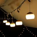 1Pc Outdoor Camping USB LED Lamp Travel Hiking Portable Tent Emergency Night Light Hanging Lantern