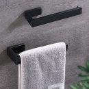 Simple Bathroom Wall-mounted Towel Holder Home Kitchen Toilet Bathware Hanging Slipper Storage Rod