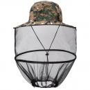 Outdoor Fishing Sunshade Folding Mosquito Cap Sunscreen Leisure Bee Hat Mesh Head Net Face Protector