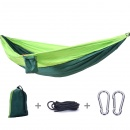 Portable Double Hammock Outdoor Hanging Bed Parachute Survival Garden Furniture Leisure Sleeping Bed