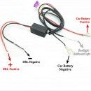 DRL Daytime Running LED Light Reley Control Harness Controller On-Off for Car Truck