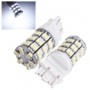 3156 3157 HID Pure White T25 60 SMD LED Car Daytime Running Light Bulbs DC 12V