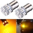 P21W 1156 BA15s 5050 LED 13SMD Tail Brake Turn Signal Rear Bulb