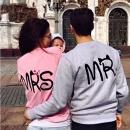 New Womens Mens Long Sleeve Couple Clothes Jumper Pullover Tops Blouse Sweater