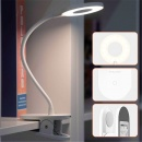 Portable 360° Bendable LED Table Lamp USB Rechargeable Dimmable Touch Clip Desk Light for Reading