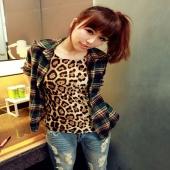 Women Fashion Stylish Sexy Casual Sleevless Top Leopard Print T-Shirt Vest Tank