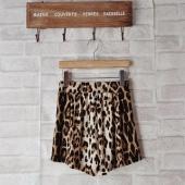 Women Fashion Casual Leopard Printed Sexy Short Pants
