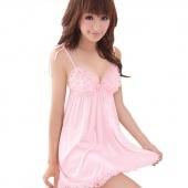 Women's Sexy Lingerie Babydoll Mini Dress Underwear Sleepwear Nightwear Chemise+ G-String