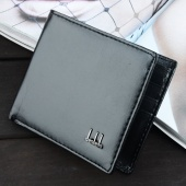 Men's Synthetic Leather Wallet Money Pockets Credit/ID Cards Holder Purse 2 Colors