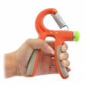 Adjustable Wrist Machine Sports Forearm Grip Training Equipment Exerciser Orange