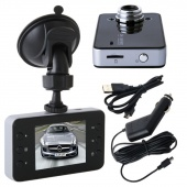 "2.4"" LCD Full HD K6000 1080P Dash Cam Front View Auto Tachograph DVR Camera Night Vision Recorder"