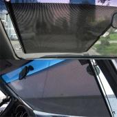 Auto Retractable Car Curtain Front Window Sun Shade Windshield Sunshade Shield Visor Block