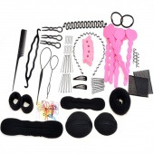 Hair Band Hair Comb Hairpin Rubber Band Device Hair Styling Clip Accessories 20 Different Type/set 1set