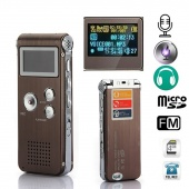 Rechargeable 8GB USB Digital Voice Stereo Recorder Dictaphone MP3 Player