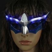 LED Mask UV Protection Bar Christmas Wedding Parties Photo Props 3 Flashing Modes