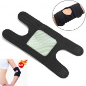 Adjustable Dual Magnetic Therapy Elbow Wrap Support Tennis Sports Sleeve Bandage