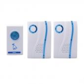 32 Songs Tunes Wireless Door Bell 1 Remote Control 2 Wireless Receiver Doorbell
