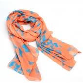 Women's Lightweight Fashion Winter Autumn Scarf Wrap Butterfly Printed  Blanket Shawl