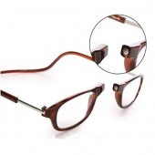 Fashion Unisex Neck Hanger Magnet Presbyopic Reading Glasses 1.00 - 4.00