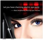 Qibest 3D Fiber Mascara Waterproof Thick Curling Eyelash Mascara