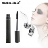 Magical Halo Waterproof Black Thick Curling Lengthening Mascara Eye Makeup Eyelash Brush Charming Eye Mascara