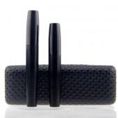 2Pcs/Set Younique Moodstruck 3D Fiber Lashes Mascara Double Black Makeup Mascara Waterproof