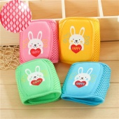 Cute Rabbit Print Baby Mesh Adjustable Knee Pad Crawling Toddler Elbow Cushion Protector Leg Warmers