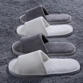 Women Men Hotel Home Spa Bath Non-slip Soft Disposable Guest Slippers
