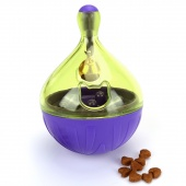 Interactive Pet Tumbler Missing Food IQ Toy Ball