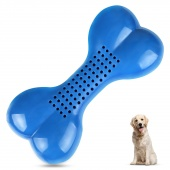 Dog Bone Shape Chew Toy Training Cooling Teether Water Play Quench Thirst Clean Teeth