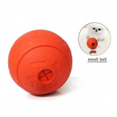 Pets IQ Treat Ball Interactive Food Dispensing Dog Toy, Fun And Interactive Treat Rugby Ball Suit For All Dogs and Cats