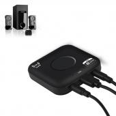 Car Wireless NFC Bluetooth V4.2 3.5MM Music Call Receiver Car Stereo Audio Adapter