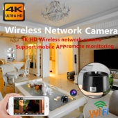 4K HD Wifi Wireless Network Camera Video Recording Motion Detection Ashtray Hidden Camera