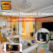 4K HD Wifi Wireless Network Camera Video Recording Motion Detection Ashtray Hidden Camera