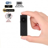 WIFI Mini Hidden Camera Night Vision Motion Detection Camcorder Family Nanny Monitoring with Button