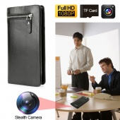 1080p Full HD Wallet Hidden Camera DVR Record with Remote Control
