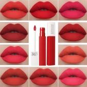 Non-stick Vintage Matte Lipstick Women Outdoor Waterproof Lip Balm Gloss with 12 Colors