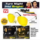 Night View NV Glasses Polarizer Night-vision Goggles Night-vision Glasses Anti-dazzle Mirror 100% UVA & UVB Protect Car Driver Glasses
