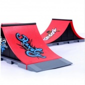 A Type Skate Park Ramp Parts for Tech-Deck Fingerboard Finger Board Children Kid's Toy Gifts
