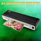 Hot&Cold Laminator Laminating Machine Roll Pouches Home Office School 2 Rollers