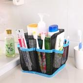 Bathroom Cosmetic Bag Storage Pouch Handle Home Travel Organizer Net Gauze Bag