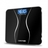 Bathroom Body Scales Glass Smart Household Electronic Digital Floor Weight Balance Bariatric LCD Display 180KG/50G