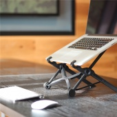 Laptop Stand Portable Adjustable Eye-Level Ergonomic for Notebook PC Laptop