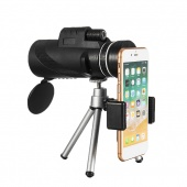40X60 HD Optical Lens Monocular Low Light Level Night Vision Waterproof Phone Telescope