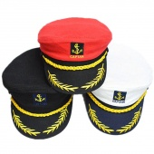 Creative Costume Party Sailor Ship Boat Captain Hat Navy Marins Admiral Cap