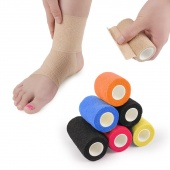 4 Sizes Elastic Self-adhesive Bandage Finger Ankle Tape Straping For Gym Fitness Tennis Running